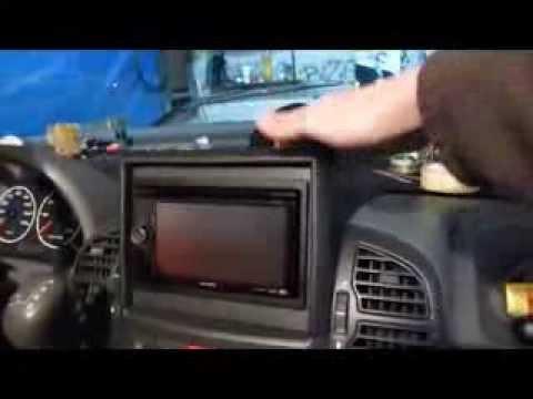 Einbau Umbau Doppel- Din- Radio in Wohnmobil Ducato 244