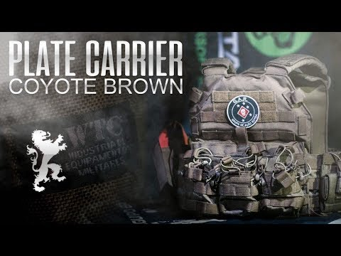 Review Plate Carrier Coyote Brown da WTC