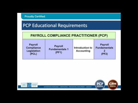Get Certified! PCP & CPM Information Session - YouTube