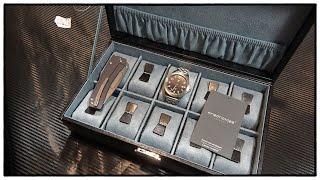 Friedrich Uhrenkoffer für 10 Uhren - Uhren und Schmuck Aufbewahrung | Tools For Gents