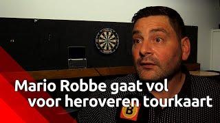 Darter Mario Robbe behoudt vertrouwen ondanks tegenslagen: 'Weet dat ik beter kan'