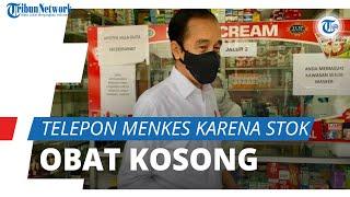 Jokowi Telepon Menkes karena Stok Obat Covid-19 Kosong di Apotek Bogor: Sudah Seminggu Lebih