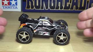 WLtoys model 2019 1/32 scale RC car unboxing and test