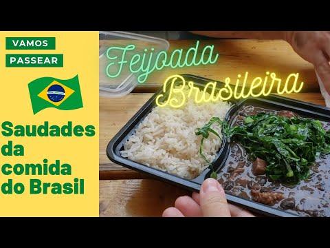 Feijoada Brasileira... que saudades. Encontramos um FoodTruck em Portland e aproveitamos.
