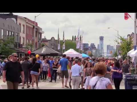 Taste of Danforth - греческий фестиваль в Торонто