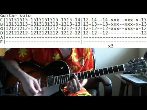 guitar lessons online Prince kiss tab