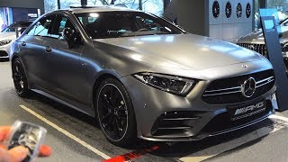 2019 Mercedes AMG CLS 53 - FULL Review Coupe   Start Up Interior Exterior Sound