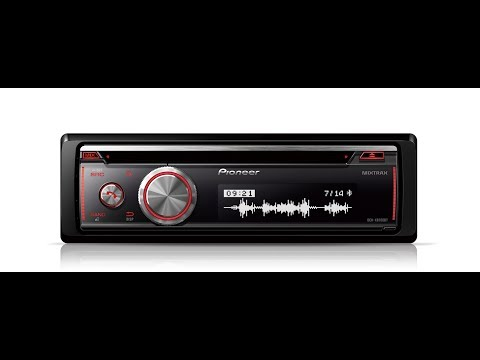 PIONEER DEH-X8700BT Bluetooth, CD, USB and Aux-In. Supports iPod/iPhone/Android