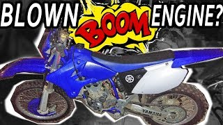 IS THIS DIRT BIKE ENGINE BLOWN UP? SEIZED MOTOR? WR450F