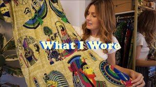 What I Wore OOTD Nov- Dec 2019| Floral Maxi Dress, Cowboy Boots, Plaid Blazer |Tiny Acorn