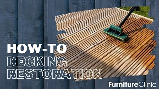How to Clean & Oil Decking