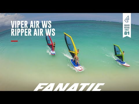 Fanatic Viper Air & Ripper Air WindSUP 2018