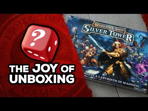 The Joy of Unboxing: Warhammer Quest Silver Tower