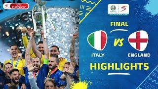 UEFA Euro 2020   Final   Italy v England   Highlights
