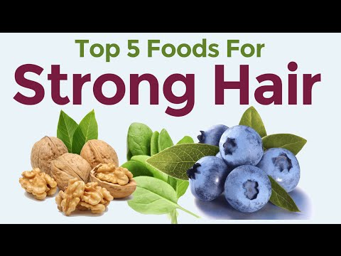 Video Top 5 Foods To Prevent Hair Loss - Best Diet For Hair Loss In Men & Women