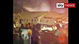 Flight carrying 191 passengers crash lands at airport in Kerala