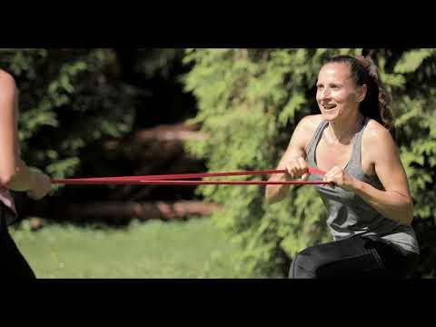 Tanke Energie und trainiere draussen mit deinem Coach Video