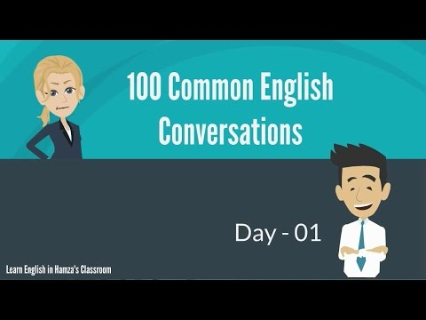 Download 100 Common English Conversations - (PART - 01) -  Day  01 - 10 Mp4 HD Video and MP3