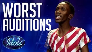 OUCH! Worst & Funniest Auditions EVER On Idols South Africa! Idols Global