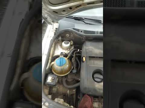 Где посмотреть номер двигателя Шкода Фабия 1.4 2002 года