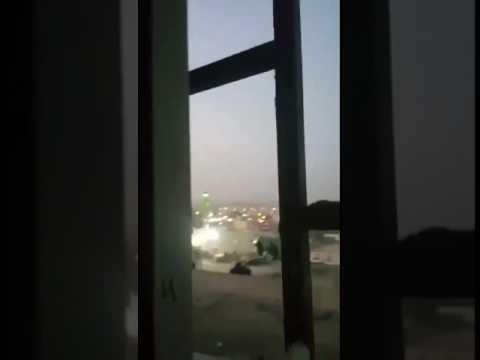 فيديو #محاصره_ارهابيين_بجدة بحي الحرزات 3
