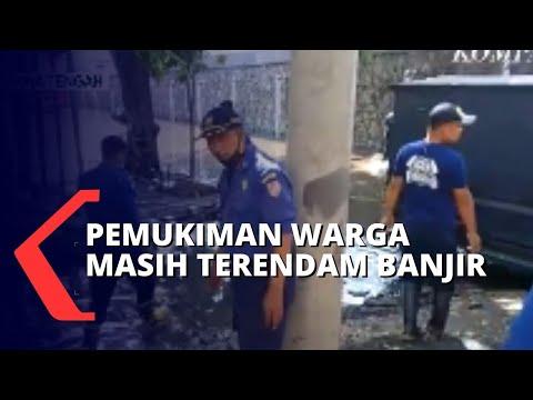 Tak Ada Hujan, Pemukiman Warga di Semarang Masih Terendam Banjir