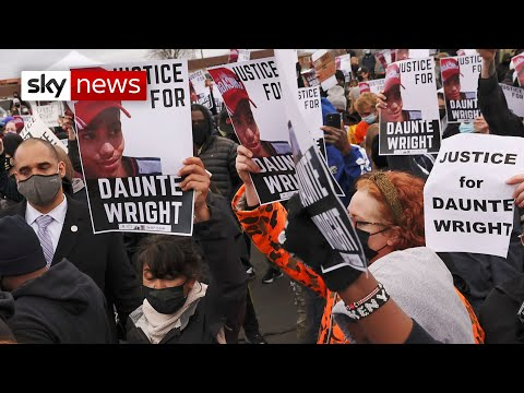 US: Daunte Wright 'should have never been killed' by police