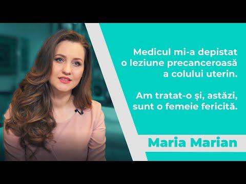 Maria Marian: Am reușit să previn cancerul de col uterin și sunt sănătoasă