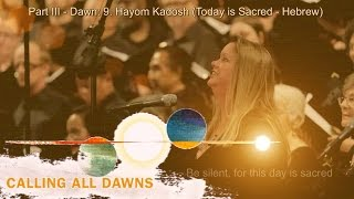 Christopher Tin - Hayom Kadosh performed by Angel City Chorale with Lyrics and Translation