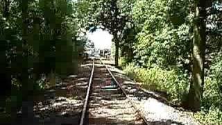 preview picture of video 'Riding on a Wickham's Trolley at the Colne Valley Railway'