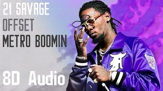 21 Savage, Offset, Metro Boomin   Ric Flair Drip (8D Audio)