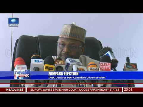 INEC Declares Zamfara PDP Candidate Governor-Elect