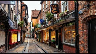 preview picture of video 'York, Inglaterra: Percorrendo as Shambles'