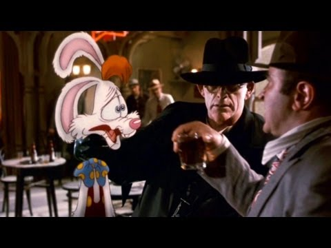 "Who Framed Roger Rabbit Movie Clip # 1 ""Drink the Drink"""
