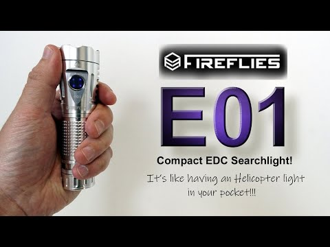 Fireflies E01 - Pocket Helicopter light!!!