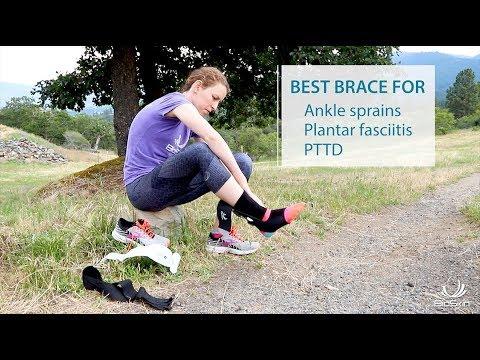 TriLok Ankle Support Brace (PTTD - Ankle Sprains - Plantar Fasciitis)