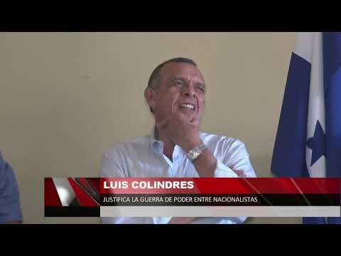 Luis Colindres justifica la guerra de poder entre nacionalistas