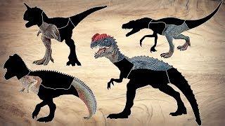 Gambar cover Dinosaurs for kids! Dinosaur Learn Names and Sounds  Carnotaurus, Dilophosaurus, T-Rex