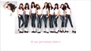Let's Talk about Love SNSD Lyrics [ENG+ROM]