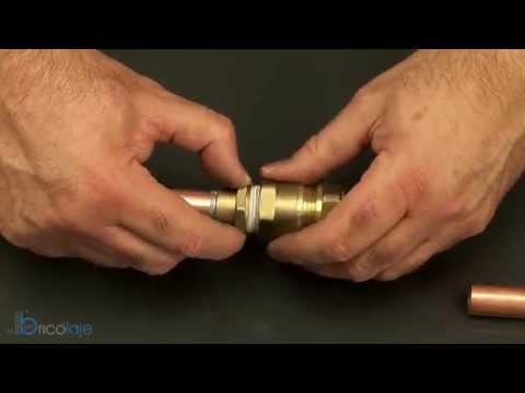 Racores compresión para tubo de cobre - rmmcia - RM - Rafael Márquez Moro y Cía. - brass fittings