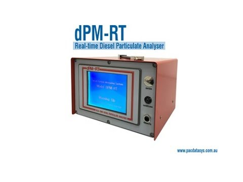 dPM-RT Product Overview - dPM-RT Real-time Diesel Particulate Analyser
