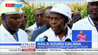 Raila asema chakula toshelevu ni mhimu kwa nchi