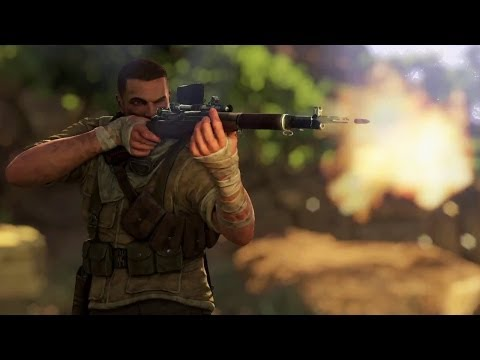 sniper elite xbox 360 gameplay