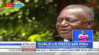 Mashirika ya Kijamii yameunga mkono kuondololewa kwa watu msitu wa Mau
