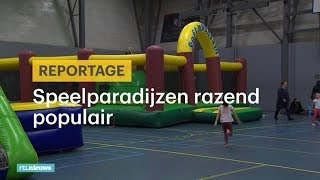 Klimmen en klauteren: speelparadijzen steeds popul - RTL NIEUWS