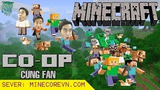 CrisDevilGamer COOP cùng FANs | Minecraft Survival