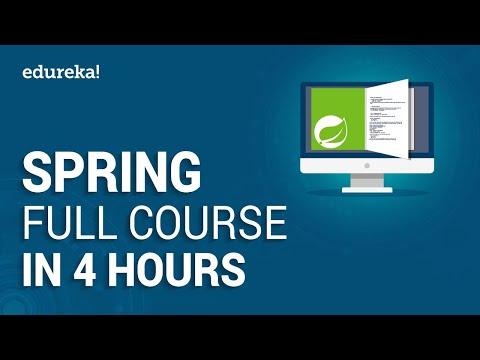 Spring Full Course - Learn Spring Framework in 4 Hours | Spring ...