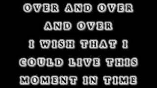 moment in time- cherish (lyrics)
