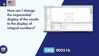 FAQ 003516 | How can I change the exponential display of the results to the display of integral numbers?