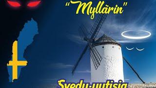 """18.30 """"myllärin""""  Svedu-uutiset 18.3.2019 Hurjan vaalityön ensitahdit."""